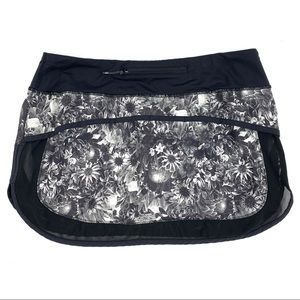 lululemon athletica Skirts - Lululemon Hotty Hot Skirt Flowabunga Floral